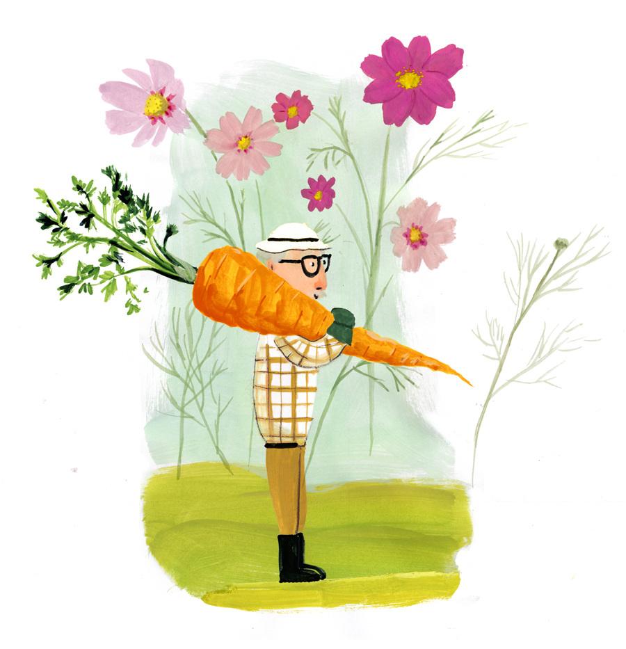 Fabuleux Le petit jardinier - Charline Picard IJ95