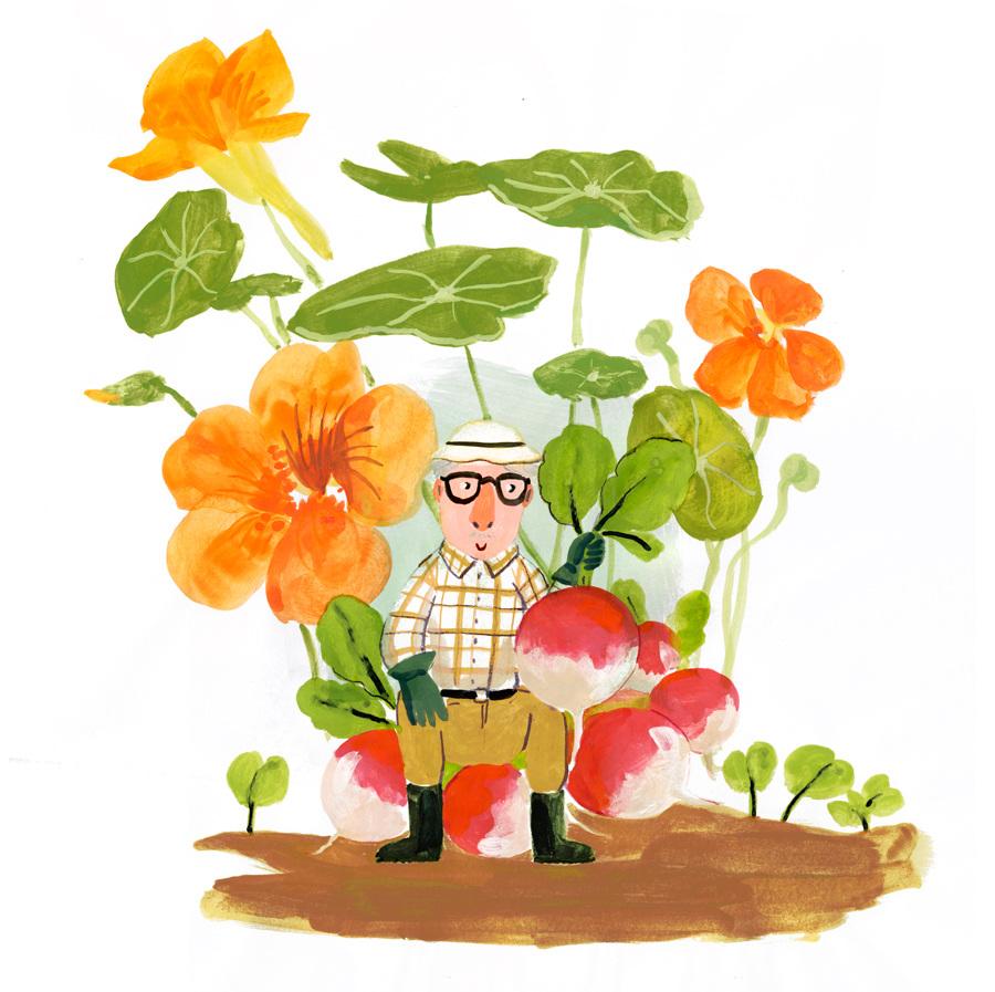Favori Le petit jardinier - Charline Picard DQ45